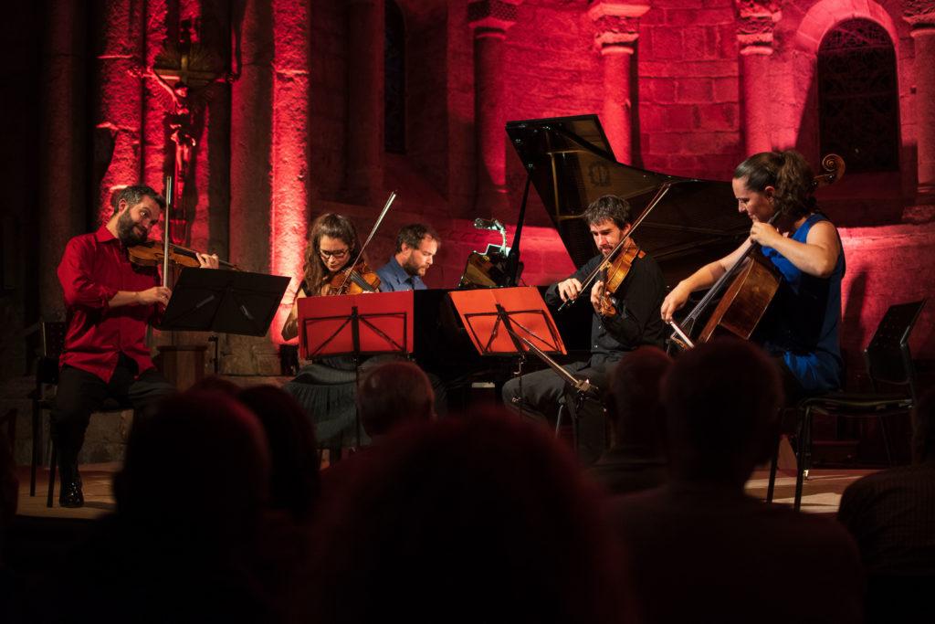 Fondation Galzin - Soutien auprès du festival de musique de chambre du larzac 2019