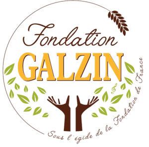 Logo de la Fondation Galzin, abritée par la Fondation de France